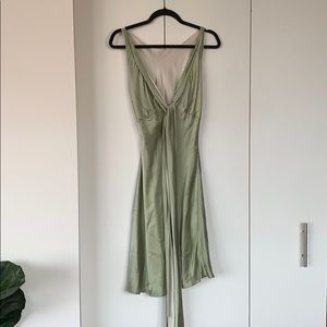 FOLEY SILK DRESS